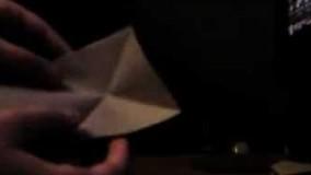 آموزش اوریگامی حیوانات سه بعدی اموزش اوریگامی قورباغه 13