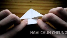 اموزش اوریگامی قورباغه-ویدیو های اوریگامی 41