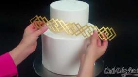 تزیین-آموزش تزیین کیک-تزیین آسان