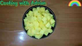 آشپزی آسان-سالاد سیب زمینی و لبو
