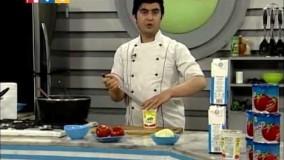 آشپزی آسان - مرغ با سبزیجات-5-