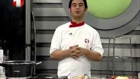 آشپزی ساده  - برنج سویا با مرغ تنوری-3-