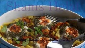 آشپزی آسان-طرز تهیه آش با سبزیجات