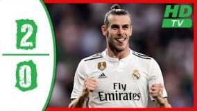 خلاصه بازی رئال مادرید 2 0 ختافه هفته اول لالیگا