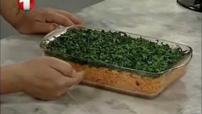 آشپزی ساده  - برنج سویا با مرغ تنوری-5-