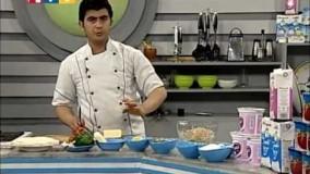 آشپزی آسان - رول ترتیلا با سبزیجات-1-