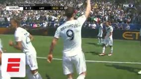 Zlatan Ibrahimovic scores two amazing goals in MLS debut | ESPN
