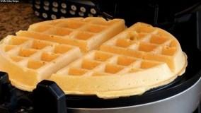 آشپزی مدرن--تهیه وافل 2