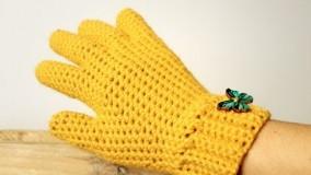 آموزش بافتنی-بافت دستکش - انگشتی