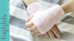 آموزش بافتنی-بافت دستکش ساده