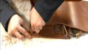 چرم دوزی--ویدیو آموزش چرم سازی در خانه DVD2 -4
