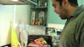 shahram s ماکارونی سبزیجات