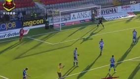 گل سامان قدوس مقابل گوتبرگ در لیگ سوید