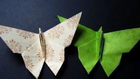 آموزش اوریگامی ویدیو-آموزش اوریگامی ساده