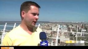 گزارشی از شهر کازان؛ تاتاریها از حمایت تیم ایران برابر اسپانیا میگویند
