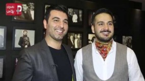 میلاد کی مرام و پژمان بازغی در جشن تولد خانه ای که پاتوق لباس سوپراستارهای ایران است.