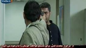سام درخشاني وحميد رضا بگاه في مشهد مثير من المسلسل البوليسي الجديد
