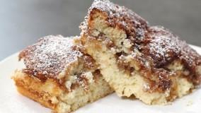 دسر-تهیه کیک قهوه لذیذ و کلاسیک