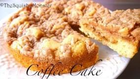 دسر-تهیه کیک قهوه لذیذ-کیک خیس