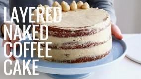 دسر-تهیه کیک قهوه لذیذ و خوش عطر