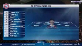 خلاصه بازی رئال مادرید و بایرن مونیخ( ششمین برد پیاپی رئال برابر بایرن مونیخ )