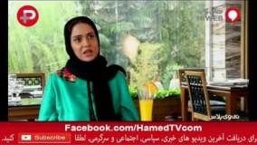 22-پریناز ایزدیار  یک سارق جلوی تالار عروسی با مشت به صورتم کوبید