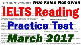 New IELTS Reading Practice Test