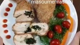 آشپزی با  مرغ-تهیه مرغ کیوسکی