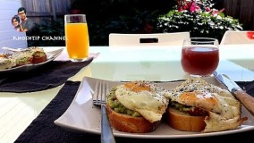 طرز تهیه میکس آواکادو و تخم مرغ - صبحانه سالم و خوشمزه سرشار از پروتئین و چربیهای مفید برای بدن