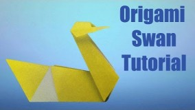 How to make a Traditional Origami Swan || Origamii World Tutorial