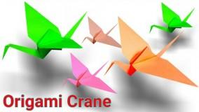 Origami Crane | Paper Crane | How To Make An Origami Paper Crane(Tutorial)