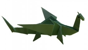Origami - How to make an easy origami dragon | DIY CRAFT IDEAS |
