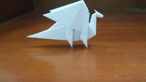 origami dragon - how to make moutain dragon