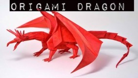 How to make an origami dragon easy