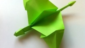 How to Make an Origami Dragon that Flies (Flaps)