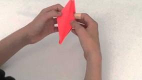Origami super easy dragon