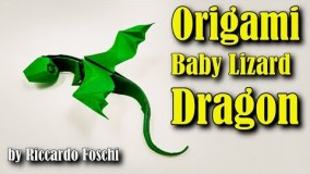 Origami Red Dragonfly | Origami insects, Origami dragon, Origami easy | 160x284