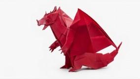 Origami Devil Dragon (Jo Nakashima)