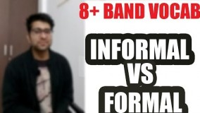 IELTS vocabulary band 9  || Topic  - Formal vs Informal word || Session 1