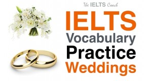 IELTS Vocabulary Practice - Weddings