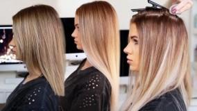 کلیپ آموزش اکستنشن چسبی مو با اتو مو