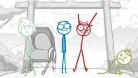 انیمیشن کمدی آدمک ها با دوبله فارسی اختصاصی-قسمت 4 از 12