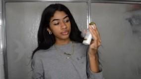 فیلم آموزش فر کردن مو بدون حرارت در خانه