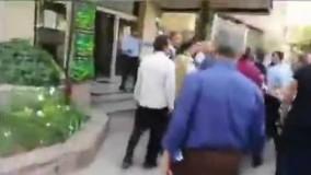 درگیری فیزیکی رئیس هیئت مدیره مترو با کارمند معترض
