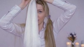 کلیپ آموزش نصب و بافت اکستنشن مو در خانه