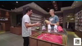 خرید یک جفت کفش برند نایک توسط کریستیانو رونالدو و بررسی مشخصات آن
