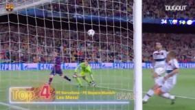 5 گل برتر مسی در لیگ قهرمانان اروپا