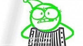 انیمیشن کمدی آدمک ها با دوبله فارسی اختصاصی-قسمت 9 از 12
