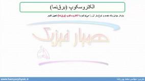 جلسه 5 فیزیک یازدهم- الکتروسکوپ 1 - مدرس محمد پوررضا