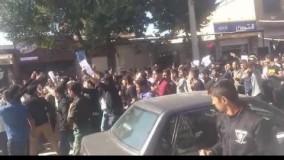 معترضان لردگانی: عزا عزا است امروز...